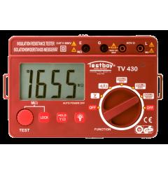 Прибор для проверки сопротивления изоляци TESTBOY TV 430N, , 0 руб., TESTBOYTV430N, TESTBOY, TESTBOY